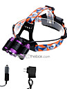 U\'King Headlamps Headlight LED lm 3 Mode Cree XM-L T6 Adjustable Focus Easy Carrying Zoomable for Camping/Hiking/Caving Everyday Use