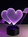 1枚 3Dナイトライト リモートコントロール ナイトビジョン スマールサイズ 変色 アーティスティック LED コンテンポラリー