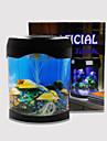 Baojie aquarium medusa lampada neon lights usb mini aquarium