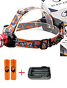 U\'King Headlamps Headlight 2000 lm 3 Mode Cree XM-L T6 Adjustable Focus Compact Size Easy Carrying High Power Multifunction Zoomable for