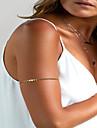 Женский Украшения для тела Цепь Тела / Belly Chain Мода Медь Геометрической формы Золотой Бижутерия Для Для вечеринок Особые случаи Спорт