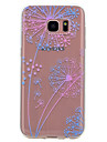 For Samsung Galaxy S8 Plus S8 Case Cover Transparent Pattern Back Cover Case Dandelion Soft TPU for S7 edge S7 S6 edge S6 S5 Mini S5