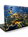 Para o macbook air 11 13 / pro13 15 / pro com retina13 15 / macbook12 a terra na noite descreveu a caixa do portatil da maca