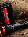 LED Flashlights/Torch Handheld Flashlights/Torch LED 1800 Lumens 5 Mode Cree XM-L T6 Adjustable Focus Zoomable Tactical for