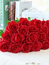 פרחים מלאכותיים 10 ענף סגנון ארופאי ורדים פרחים לשולחן
