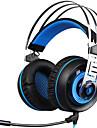 A7 귀 이상 / 머리띠 유선 헤드폰 동적 플라스틱 게임 이어폰 볼륨 컨트롤 / 마이크 포함 / 소음 차단 헤드폰