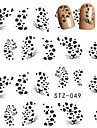 10pcs/set Water Transfer Sticker Nail Sticker Nail Decals Nail Art Design