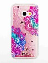 For Samsung Galaxy A3(2017) A5(2017) Flowing Liquid Pattern Case Back Cover Case Flower Soft TPU for A5(2016) A3(2016)