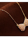 Муж. Жен. Ожерелья-бархатки Ожерелья с подвесками Ожерелья-цепочки Искусственный жемчуг В форме банта Искусственный жемчуг Сплав Базовый