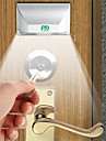 ywxlight 3w 4-led keyhole light lampada pir infrarossi ir wireless sensore automatico rilevatore di movimento (dc 12 v)