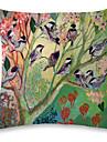 1 pcs Lin Taie d\'oreiller, Animal Moderne / Contemporain