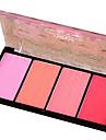 Make-up set Compactpoeder Blozen Droog / Combinatie / Olierijk Gekleurde Lipgloss / Bedekking / Naturel Gezicht Verzinnen schoonheidsmiddel