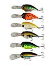 "1 pcs Hard Bait Fishing Lures Hard Bait g / Ounce, 50 mm / 2-1/8"" inch, Hard Plastic Sea Fishing Spinning Jigging Fishing Freshwater"