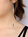 Femme Boucle d\'oreille Bijoux Personnalise euroamericains Simple Style Cuivre Bijoux Bijoux PourSoiree Occasion speciale Quotidien