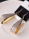 Earring Drop Earrings Jewelry Women Wedding / Party / Daily / Casual Alloy 2pcs Gold / Silver