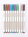 Pastels Pen Permanent Markers Pen Red / Black / Blue Ink Colors For School Supplies Office Supplies Pack of 10 pcs