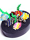Magnetic Sculpture Magnet Toys Display Model Metal Puzzles 1 Pieces Toys Creative Magnetic DIY Colorful Circular Fish Birthday Gift