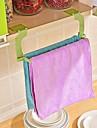 1pcs sem costura pasta de perfuracao livre toalha de rack pendurado toalha cozinha banheiro banheiro toalha rack cor aleatoria