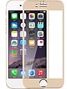Para iphone 7 tela cheia coberto com liga de titanio pelicula de filme de vidro temperado