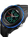 SKMEI Men\'s Digital Wrist Watch Sport Watch Alarm Calendar / date / day Water Resistant / Water Proof Stopwatch Dual Time Zones LCD Rubber