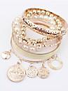 Femme Charmes pour Bracelets Amitie Mode Boheme Gothique bijoux de fantaisie Resine Alliage Forme de Cercle Forme Geometrique Bijoux Pour