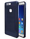 Capinha Para Huawei Antichoque Capa traseira Cor Solida Macia TPU para Honor 8 Huawei