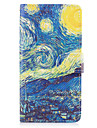 For Samsung Galaxy S8 Plus S7 Edge Case Cover The Starry Sky Pattern PU Leather Cases for S6 Edge Plus S5 Mini S4 S3