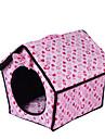 Chien Couchages Animaux de Compagnie Tapis & Planches Coeur Chaud Doux Fuchsia Bleu Rose Pour les animaux domestiques