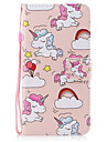Назначение iPhone X iPhone 8 Чехлы панели Бумажник для карт Кошелек со стендом Флип С узором Магнитный Чехол Кейс для единорогом Твердый