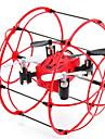 RC Drone M66 4 canaux 2.4G - Quadri rotor RC Vol Rotatif De 360 Degres Quadri rotor RC Cable USB Tournevis Helices