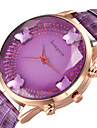 Femme Montre Tendance Quartz Montre Decontractee Alliage Bande Papillon Noir Bleu Rouge Marron Violet