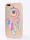 Для iphone 7 7 плюс чехол чехол прозрачный узор задняя крышка чехол мечта ловца мягкий tpu для iphone 6s 6 плюс 6s 6 se 5s 5