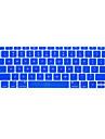 Para macbook teclado de 12 polegadas protetor de capa us ingles arabe russo colorido varias cores