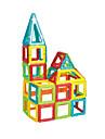 Puzzle blocs magnetiques Ensembles de construction magnetique Jouets Carre Triangle Unisexe Garcons Pieces