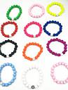 Women\'s Strand Bracelet - Resin Friends Vintage, Natural, Fashion Bracelet Green / Pink / Light Blue For Gift