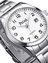 Жен. Модные часы Кварцевый Календарь Защита от влаги сплав Группа Серебристый металл