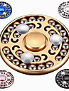 Hand Spinner Toys High Speed Stress and Anxiety Relief Round Aluminum Alloy Pieces N/A Gift