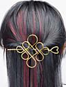 Europe et les Etats-Unis commerce exterieur euro contracte joker accessoires pour cheveux creux metal chinois noeud cheveux demi bras type