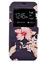 Кейс для Назначение SSamsung Galaxy S8 Plus S8 Бумажник для карт со стендом С узором Чехол Цветы Твердый Искусственная кожа для S8 S8