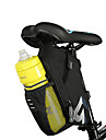 ROSWHEEL Bicycle Saddle Bag With Water Bottle Pocket Waterproof MTB Bike Rear Bags Cycling Rear Seat Tail Bag Bike Accessories