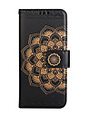 Case For Samsung Galaxy S8 Plus S8 Wallet Flip Embossed Pattern Full Body Case Mandala Flower Hard PU Leather for Samsung S7 S7 EDGE S6 edge S5 S4 S3