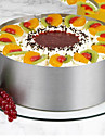 1 pc 6-12 inch Adjustable Mousse Ring Stainless Steel Round Mousse Cake Mold Double Scale Mousse Layer Slicer