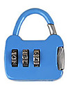 Andre zink legering passord hengelaas 3 siffer passord notatbok liten passord laas mini bag laas metall koffert boks bag dail lock passord