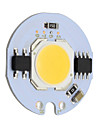 7w round led cob chip smrat ic ac220v pour diy downlight spotlight plafonnier blanc chaud / cool (1 piece)