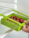 1pc multi funzione abs scatola di immagazzinaggio frigorifero cassetti scorrevoli design scatola di immagazzinaggio accessori da cucina
