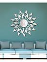 Abstrait Romance Forme Stickers muraux Miroirs Muraux Autocollants Autocollants muraux decoratifs,Acrylique Decoration d\'interieur Calque
