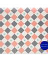 Carre de la jeunesse tr-af18547 geometrie du temperament tapis de souris impermeable a l\'usure 22,5 * 19,5 * 0,5 cm