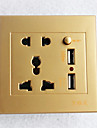 1шт Высокое качество Украшение Электрическая розетка