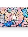 1개 스크래치 방지 플라워 투명 플라스틱 바디 스티커 패턴 용MacBook Pro 15\'\' with Retina MacBook Pro 15\'\' MacBook Pro 13\'\' with Retina MacBook Pro 13\'\' MacBook Air