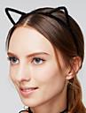 여성용 머리띠 / 빈티지 / 귀여운 스타일 머리띠 - 고양이 귀 아크릴 / 패브릭, 모피 / 헤드 밴드 / 헤드 밴드